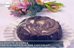 torta di patate ai due cioccolati
