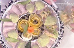 lonza di maiale con salsa tonnata all'avocado di Sergio Barzetti