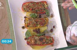 peperoni ripieni di tonno e olive