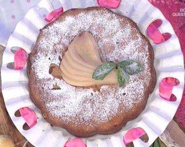 torta pere e zenzero di Anna Moroni