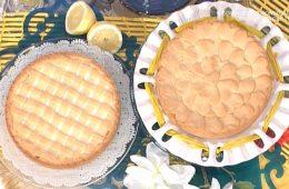 torta alla ricotta con lemon curd di Natalia Cattelani