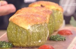 calabacines rellenos (zucchine ripiene) di David Povedilla