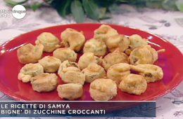 bignè di zucchine croccanti