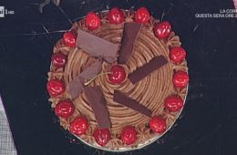 torta di cioccolato e ciliegie di Guido Castagna