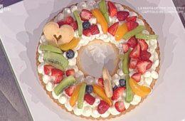 crostata alla frutta (cream tart) di Natalia Cattelani
