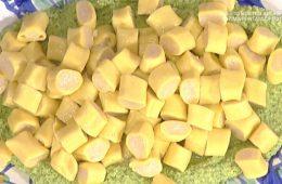 mezzemaniche ripiene con crema di zucchine e menta di Daniele Persegani