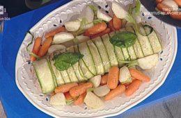 polpettone freddo in crosta di zucchine di Luisanna Messeri