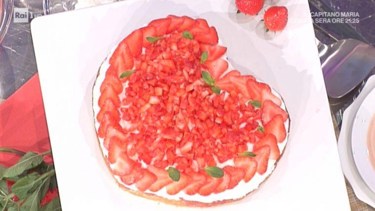 poke cake alle fragole di Natalia Cattelani