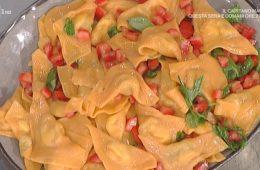 triangoli rossi con melanzane e bufala di Alessandra Spisni
