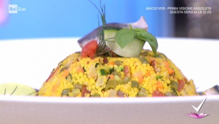 insalata di cous cous alla siciliana