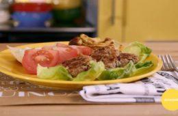 mini burger di fagioli con maionese senza uova