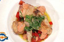 pollo ai peperoni in salsa d'acciughe di Emilio Signori