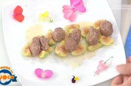 polpette di maiale con fichi caramellati di Beppe Sardi