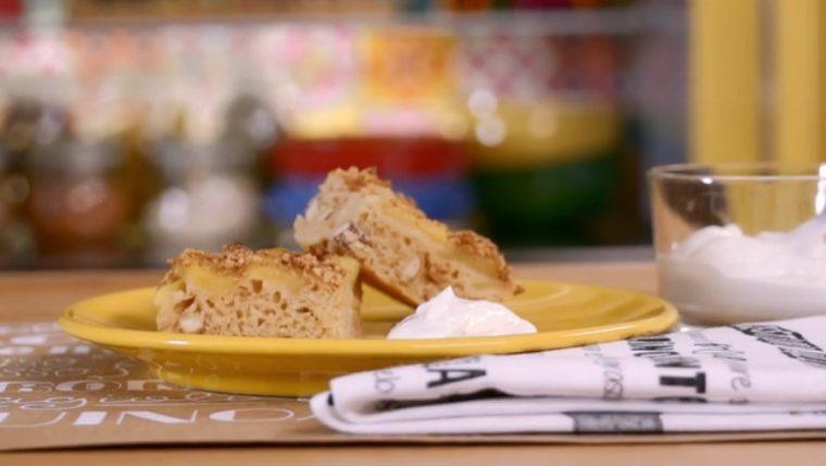 torta di mele bassa