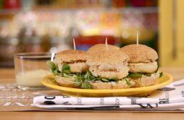 mini fish burger