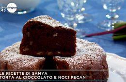 torta al cioccolato e noci pecan