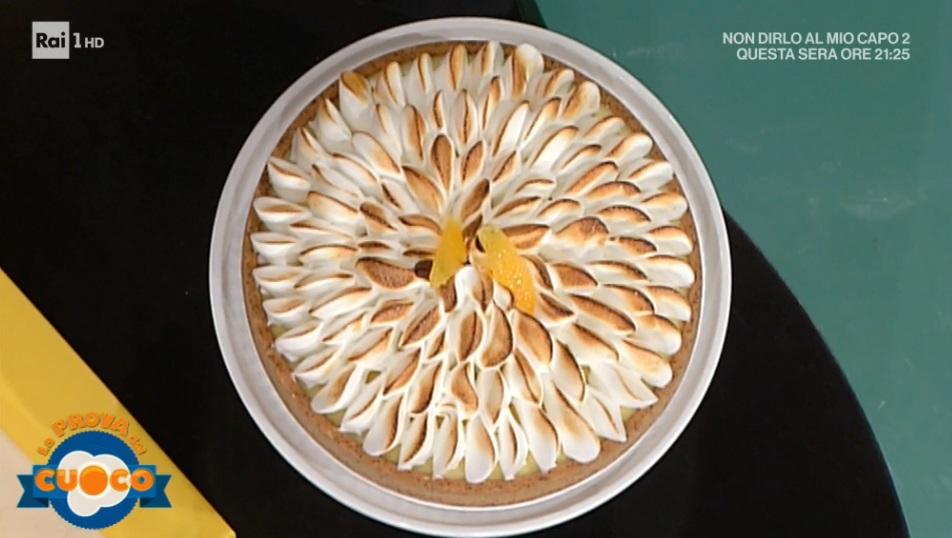 torta meringata all'arancia e lime di Federico Prodon
