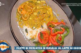 filetti di merluzzo in masala al latte di cocco