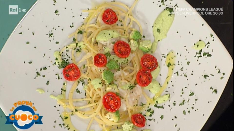 spaghetti con broccolo e arzilla di Marco Bottega