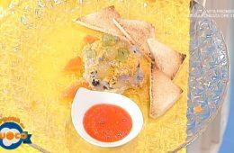 torre di formaggi alle tre uve di Anna Maria Palma