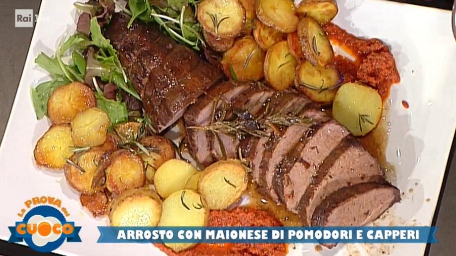 arrosto con maionese di pomodori e capperi di Emilio Signori