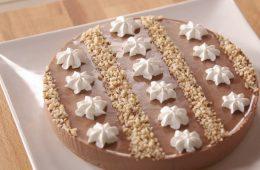 cheesecake alla crema di nocciola