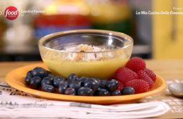 frutti di bosco con crema pasticcera