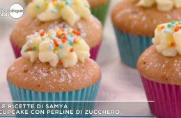 cupcake con perline di zucchero