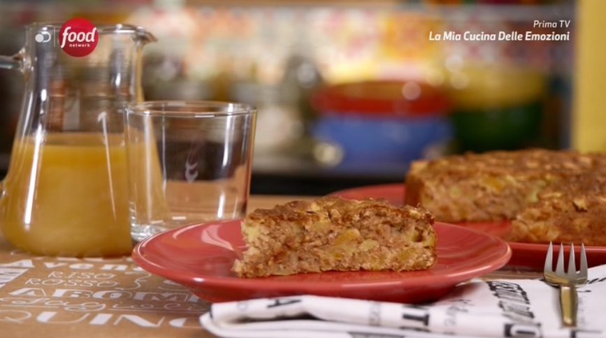 torta leggerissima di mele e albicocche (senza zucchero) di Marco Bianchi
