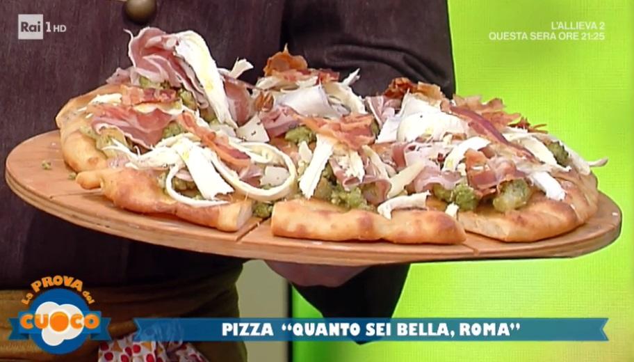 pizza quanto sei bella Roma di Marco Ruffini
