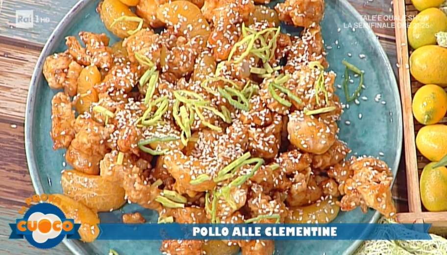 pollo alle clementine di Diego Bongiovanni