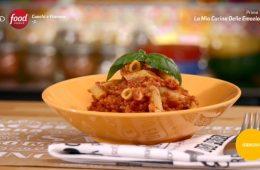 pasta con ragù di soia