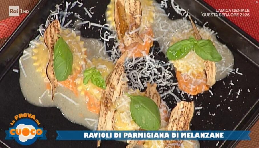 ravioli di parmigiana di melanzane di Natale Giunta