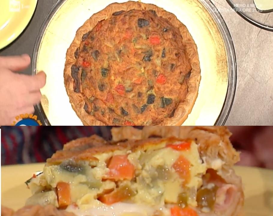 torta rustica prosciutto e formaggio di Fabio Campoli
