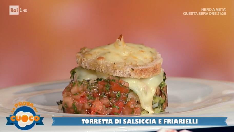 torretta di salsiccia e friarielli di Stefano Callegaro