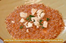 risotto zucca e formaggio e crostone alla zucca di Anna Moroni