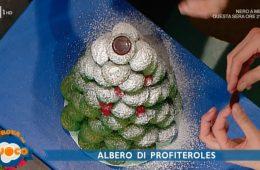 albero di profiteroles di Federico Prodon