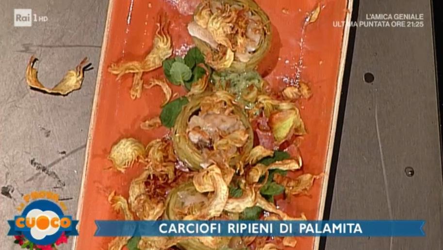 carciofi ripieni di palamita di Marco Claroni