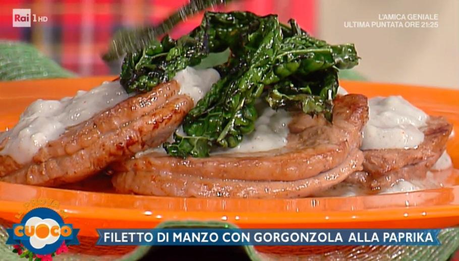 filetto di manzo con gorgonzola e paprika di Clara Zani
