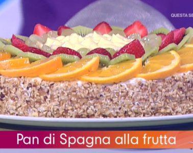 pan di Spagna alla frutta