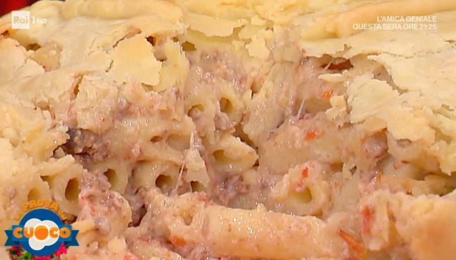 pasticcio di maccheroni in crosta di Alessandra Spisni