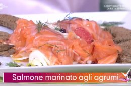 salmone marinato agli agrumi di Daniele Persegani