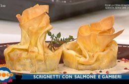 scrignetti con salmone e gamberi di Luisanna Messeri