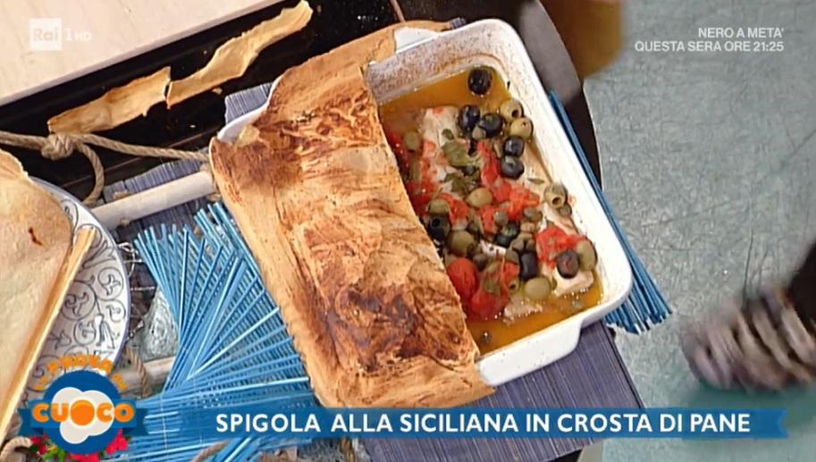 spigola alla siciliana
