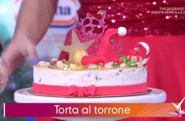 torta al torrone di Sal De Riso