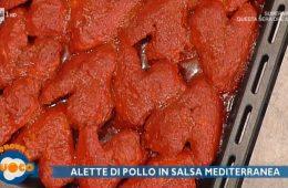 alette di pollo in salsa mediterranea di Fabio Campoli