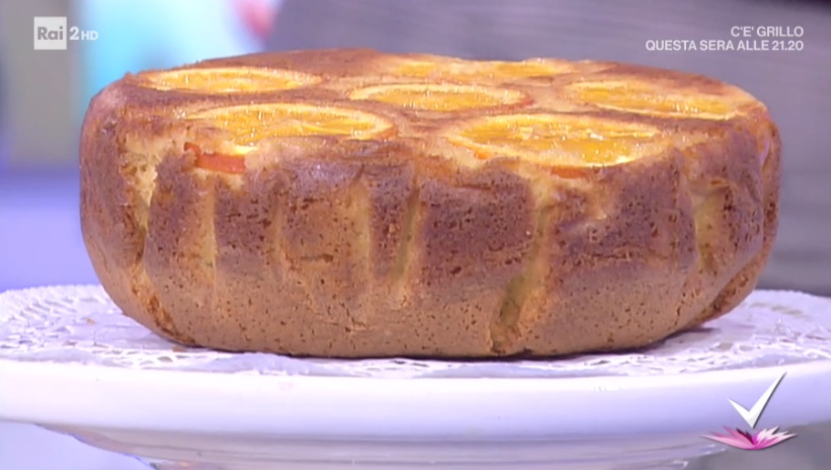 torta rovesciata all'arancia di nonna Giustina