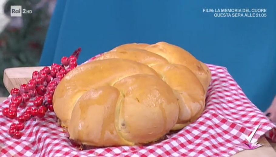 treccia di pan brioche al roquefort di Daniele Persegani