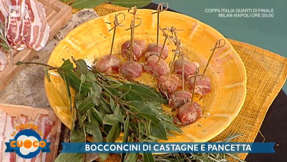 bocconcini di castagne e pancetta di Clara Zani