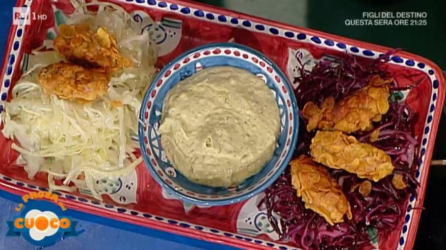 crocchette di pollo con corn flakes